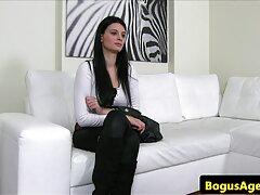 سونیا B با جوراب ساق بلند فیلم سکسی کامل